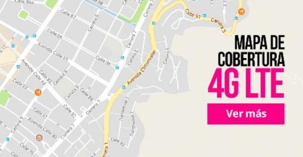 cobertura avantel 4G LTE