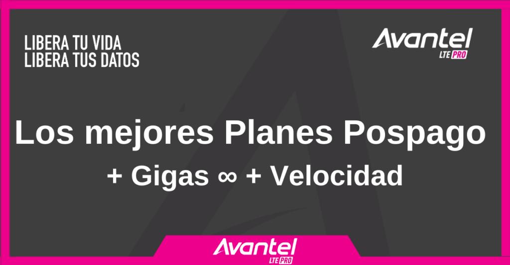 Planes Avantel Postpago