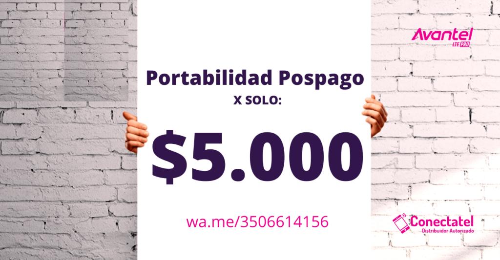 portabilidad Planes Avantel Postpago