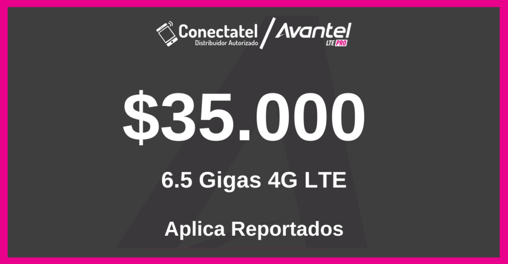 internet movil avantel de 35mil
